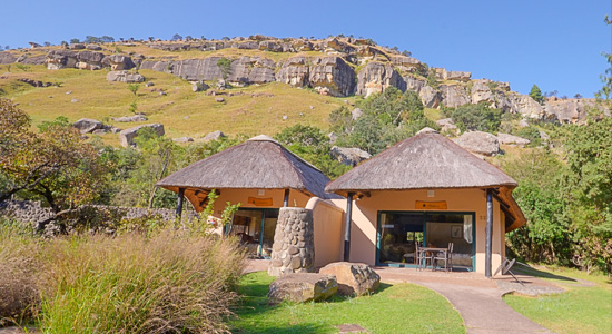 Giants Castle Camp Drakensberg Accommodation 2 bed Chalet Giants Castle Game Reserve Drakensberg KwaZulu-Natal Self-Catering Accommodation